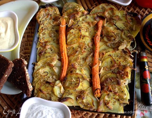 Картофель в духовке с пряностями