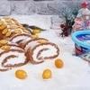 Пряный морковно-ореховый рулет с нежным кремом