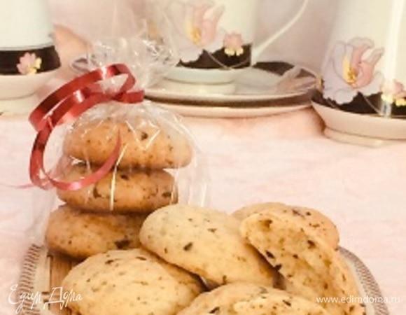 Воздушное печенье с шоколадной крошкой