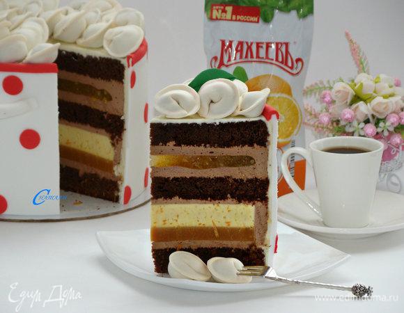 Торт «Кастрюля пельменей»