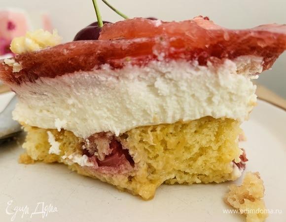 Десерт «Клубничное облако в сливках»