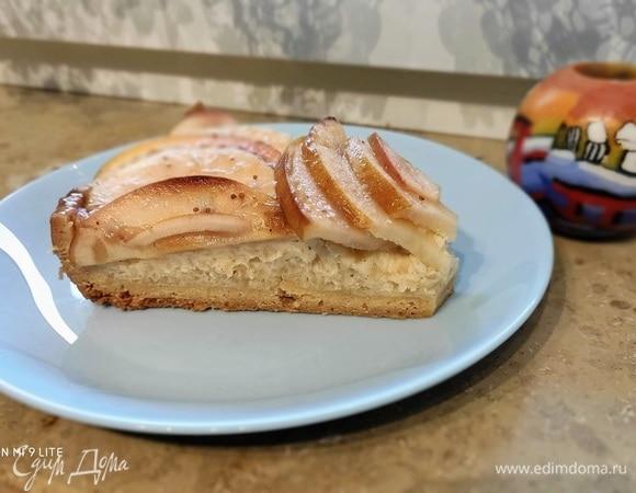 Баскский пирог с яблоками