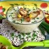 Сырный крем-суп с кукурузой