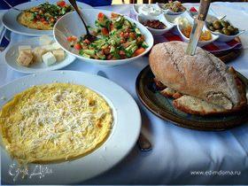 Средиземноморский завтрак. Израильская версия