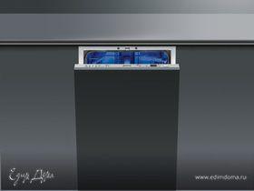 Эксклюзивные системы мойки в посудомоечных машинах от компании SMEG