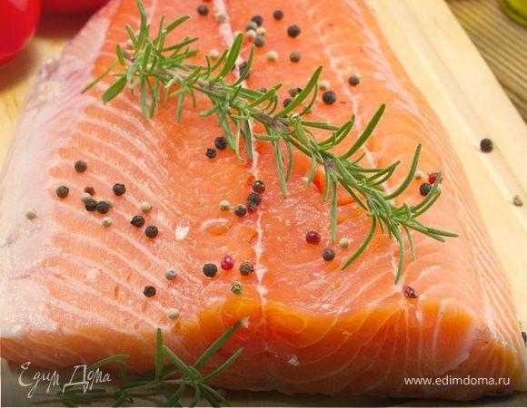 Засолить лосось домашних условиях