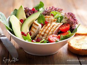Весеннее меню: вкусные салаты на каждый день