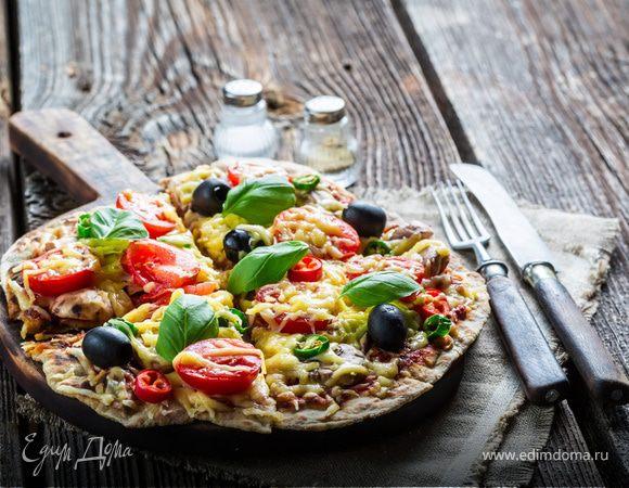 Пицца с весенним настроением