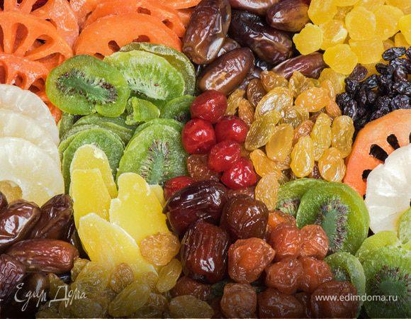 Сладкая польза: семь вкусных сухофруктов