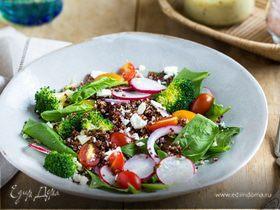 Зеленое меню: десять рецептов салатов из первых весенних овощей