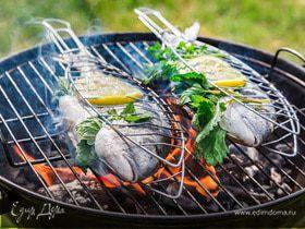 Рыба на гриле: инструкция к применению
