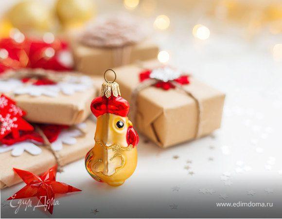 Под знаком Огненного Петуха: украшение новогоднего стола своими руками