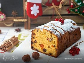 Рождественский кекс: инструкция к применению