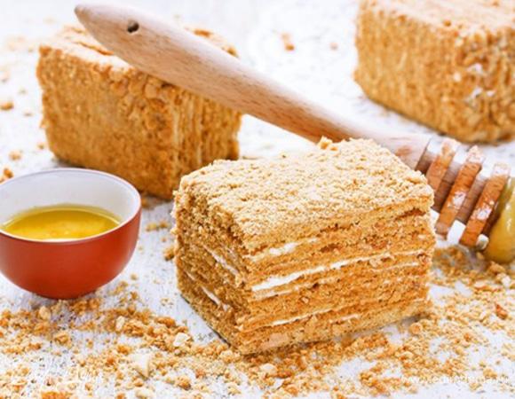 Торт Медовик классический - рецепт пошаговый с фото