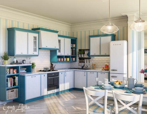 Мастерская кухонной мебели «Едим Дома!» представляет новую модель «Нью-Йорк»