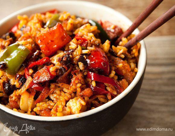 Меню с перчинкой: экзотические блюда из риса