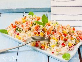 Гармония вкуса: готовим салаты из риса