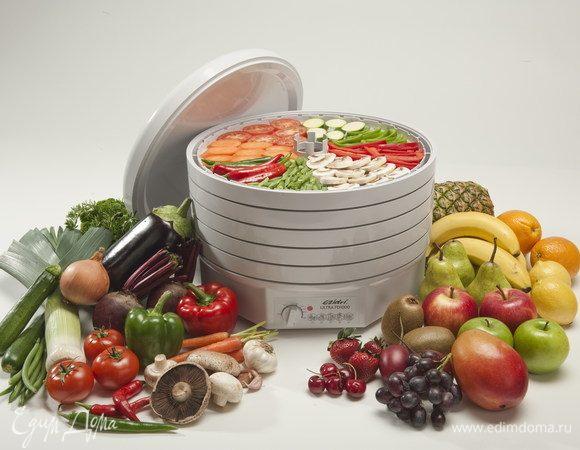 Готовим с пользой: как правильно выбрать сушилку для овощей и фруктов