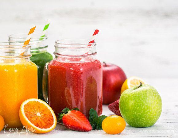 Кладовая пользы: готовим витаминные напитки с KENWOOD