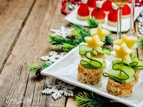 Вкус праздника: готовим необычные новогодние закуски