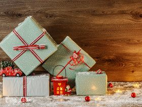Собираем мешок с подарками