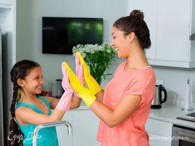 Чистота на здоровье: 10 правил уборки в доме с детьми