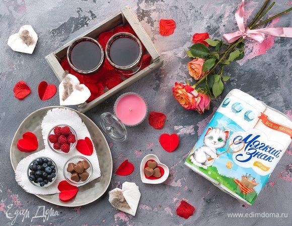 «Мягкий знак» соединяет сердца: романтический ужин на двоих