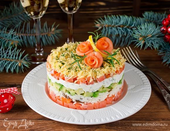 Освежаем чувства: 5 необычных слоеных салатов на новогодний стол