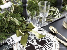 Фотоподборка от «Едим Дома»: идеи праздничной сервировки