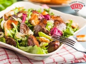 Согревающее меню: готовим теплые зимние салаты