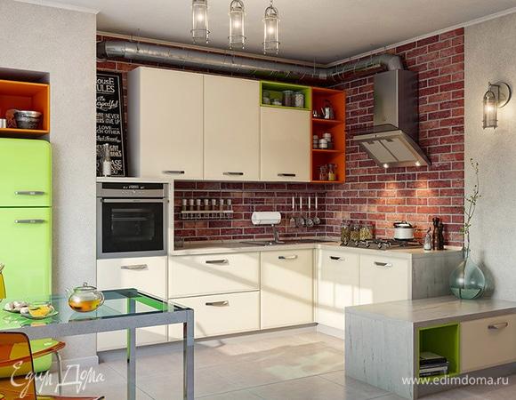 Городские легенды: выбираем кухню в стиле неоклассика