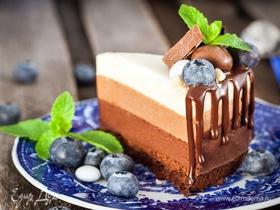 Торт «Три шоколада»: секреты приготовления