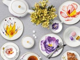 Цветочное очарование: посуда из костяного фарфора в вашем доме