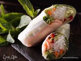 Кулинарные тренды: хрустящие спринг-роллы