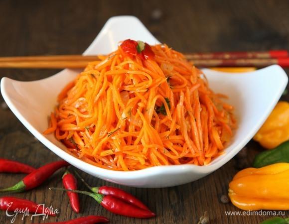Быстрый мастер-класс: морковь по-корейски