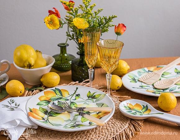 Редакция рекомендует: итальянская посуда, как у Юлии Высоцкой