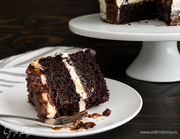 Быстрый мастер-класс: шоколадный торт на темном пиве