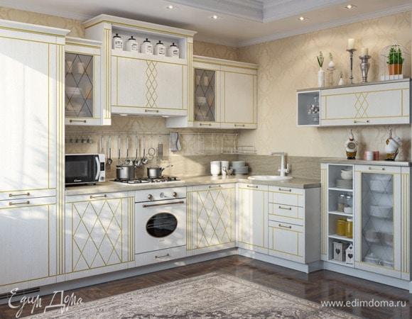 Кухня в светлых тонах: плюсы, минусы, правила