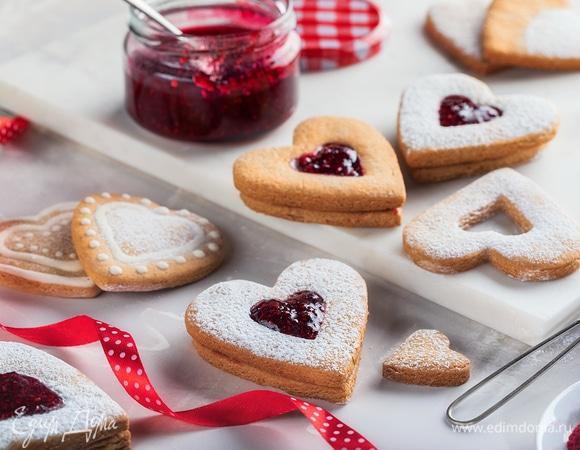 Сладкие валентинки: десерты и выпечка на 14 февраля