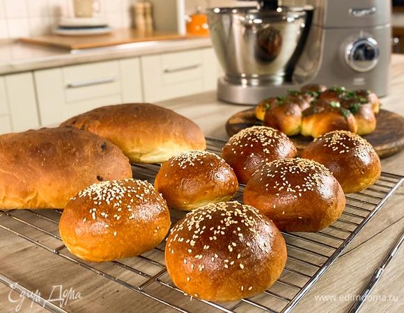 Научи меня печь! Картофельные булочки, чесночные пампушки и луковый хлеб