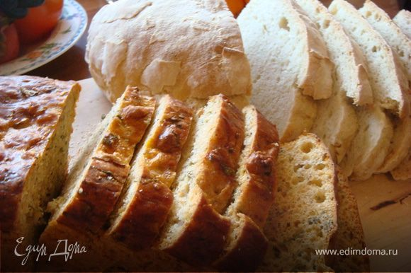 Испечь домашний хлеб, я использовала в этом году рецепт от Юлии Высоцкой http://www.edimdoma.ru/recipes/1794 и свой http://www.edimdoma.ru/recipes/16517