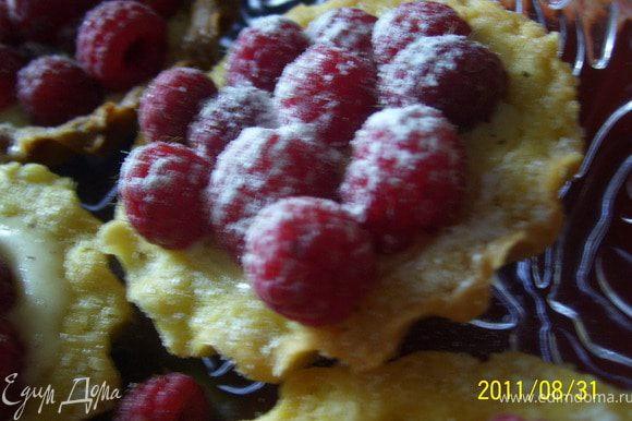 Аппетитный, ароматный, хрустящий десерт готов!