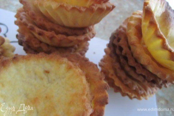 Приготовить корзинки по рецепту http://www.edimdoma.ru/recipes/28689