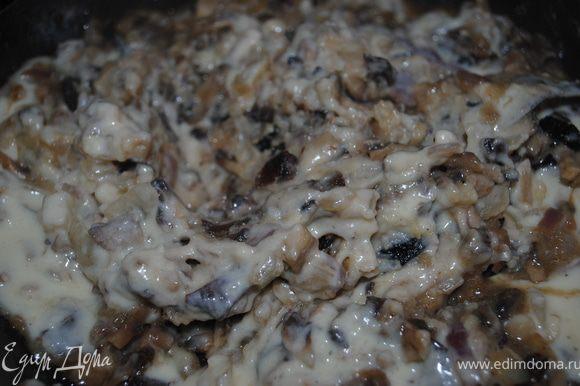 этот соус добавить в грибы