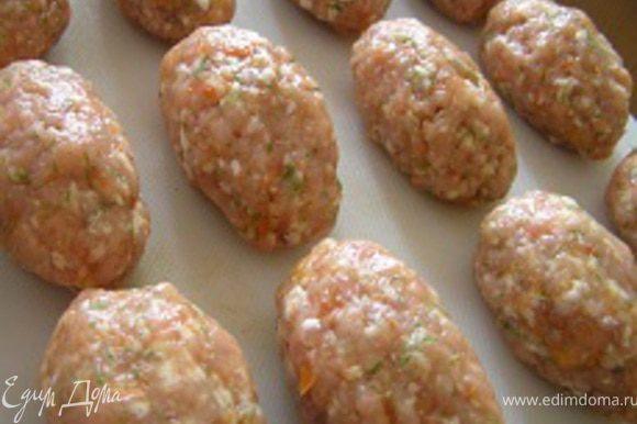 А вот такие котлетки у меня получились по этому же рецепту только из свинины и оранжевого перца :)