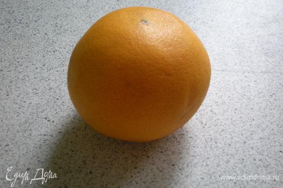 Очистить кожуру от фрукты