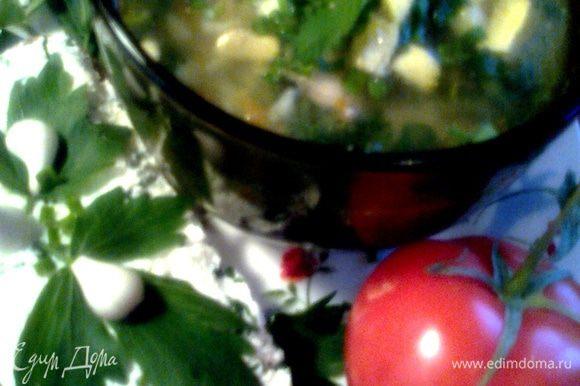 Подаём к крапивному супчику или просто на завтрак!(http://www.edimdoma.ru/retsepty/41579-sup-molodo-zeleno-eksperimentiruy-s-tefal)