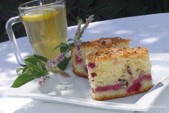 Пирог можно употреблять как теплым, так и холодным, в любом виде он имеет превосходный вкус!