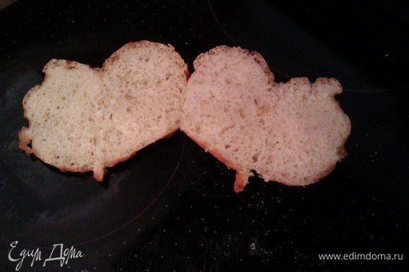 А вот и булочки в разрезе )) Уже готовы стать аппетитными сэндвичами ))