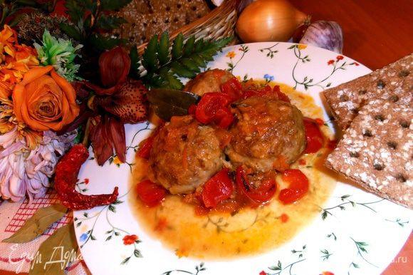 Отличное горячее блюдо для разнообразия в будни для Вашей семьи!
